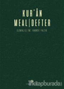 Kur'an Meal - Defter (Ciltli)