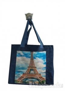 Mavi Paris Cepli Bez Çanta Kod - 220149