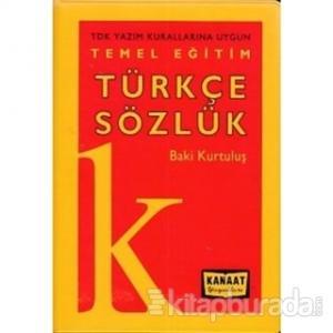 Temel Eğitim Türkçe Sözlük (Plastik Kapak)