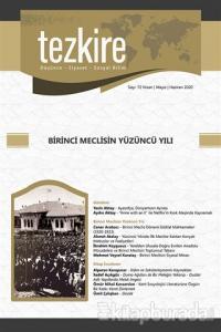 Tezkire Dergisi Sayı: 72 Nisan -Mayıs - Haziran 2020