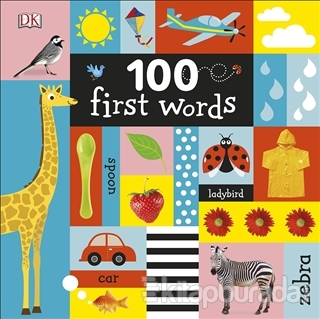 100 First Words (Ciltli)