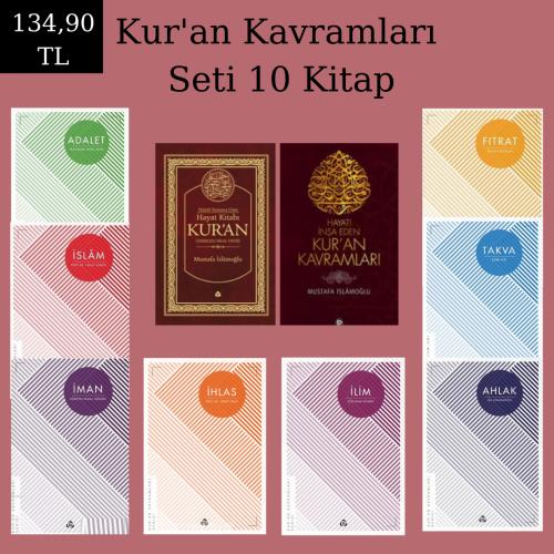 Kur'an Kavramları Seti 10 Kitap Özel Fiyat Mustafa İslamoğlu