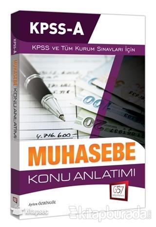 2018 KPSS A Grubu Muhasebe Konu Anlatımı