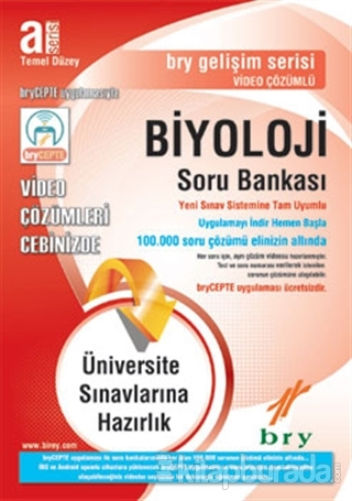 2019 A Serisi Biyoloji Soru Bankası Temel Düzey Kollektif