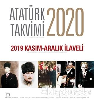 2020 Atatürk Masa Takvimi - 2019 Kasım - Aralık İlaveli