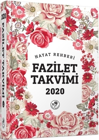 2020 Hayat Rehberi Fazilet Takvimi - Yurtiçi 5.Bölge Ciltli
