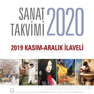 2020 Sanat Duvar Takvimi - 2019 Kasım - Aralık İlaveli