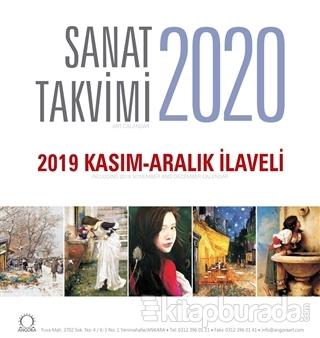 2020 Sanat Masa Takvimi - 2019 Kasım - Aralık İlaveli