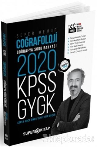 2020 Süper Memur KPSS - GYGK Coğrafoloji Coğrafya Soru Bankası