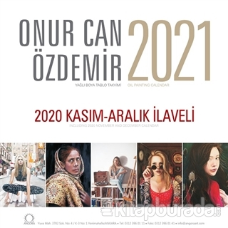 2021 Onur Can Özdemir Duvar Takvimi Kolektif