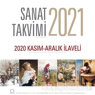 2021 Sanat Duvar Takvimi