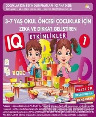 3-7 Yaş Okul Öncesi Çocuklar İçin Zeka ve Dikkat Geliştiren Etkinlikler 1