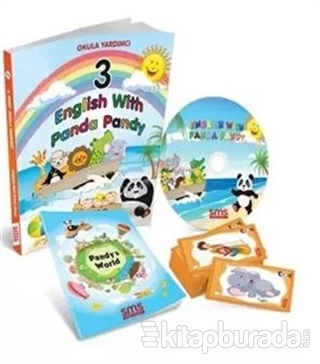 3 English With Panda Pandy Konu Anlatımlı Set