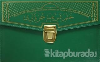 30 Cüz Kur'an-ı Kerim Orta Boy Çantalı Ayfa234 Yeşil