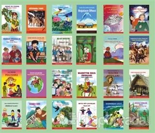 4. Sınıf Kitaplığı (24 Kitap Takım Kutulu)