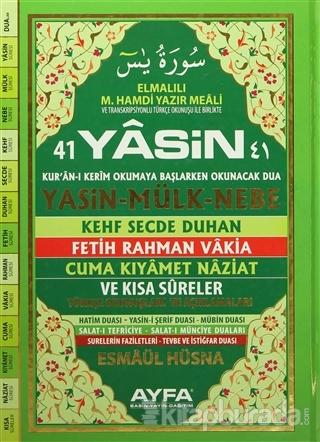 41 Yasin Rahle Boy (Ayfa052) (Ciltli)