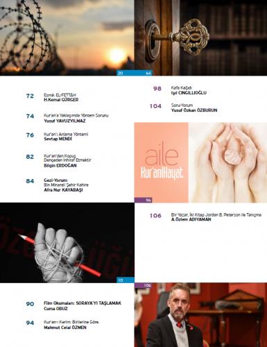 Kur'ani Hayat Dergisi/Kur'an'dan Kopuş/ Eylül-Ekim 2019 67.Sayı ve Çoc