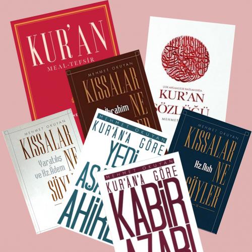 Mehmet Okuyan Külliyatı 7 Kitap Takım
