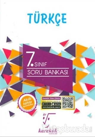 7.Sınıf Türkçe Soru Bankası (Yeni Müfredat)