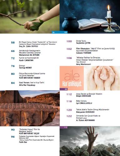 Doğadan - Ahlaktan Kopuş/ Mart - Nisan 2020 70-71.Sayı ve Çocuk Eki Ko