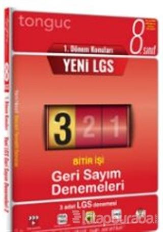 8. Sınıf LGS 1. Dönem Konuları Geri Sayım Denemeleri