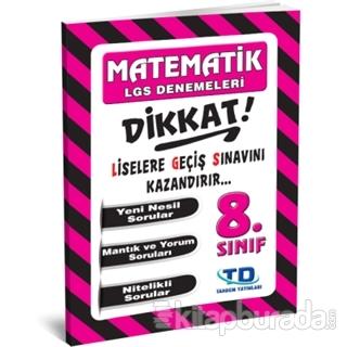 8. Sınıf Matematik LGS Deneme