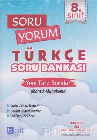8. Sınıf Soru Yorum Türkçe Soru Bankası