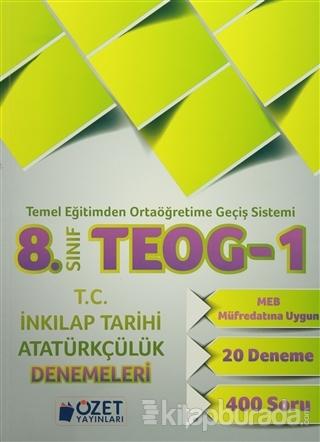 8. Sınıf TEOG 1 T.C. İnkılap Tarihi Atatürkçülük Denemeleri