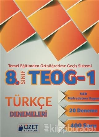 8. Sınıf TEOG 1 Türkçe Denemeleri