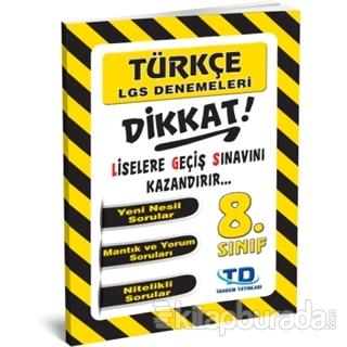 8. Sınıf Türkçe LGS Deneme
