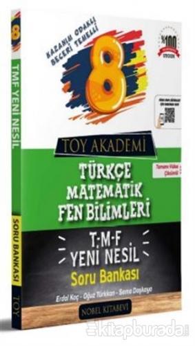 8. Sınıf Türkçe Matematik Fen Bilimleri T-M-F Soru Bankası