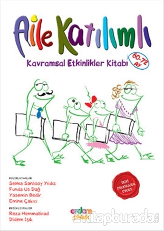 Aile Katılımlı - Kavramsal Etkinlikler Kitabı (60-72 Ay)