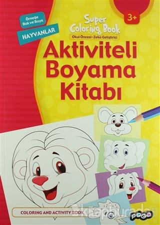 Aktiviteli Boyama Kitabı - Hayvanlar