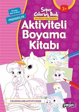 Aktiviteli Boyama Kitabı - Prensesler
