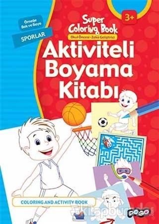 Aktiviteli Boyama Kitabı - Sporlar