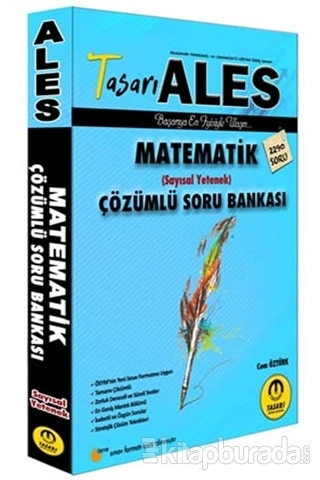 ALES Matematik Sayısal Yetenek Soru Bankası