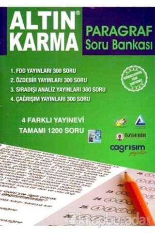 Altın Karma Paragraf Soru Bankası