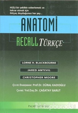 Anatomi Recall (Türkçe)