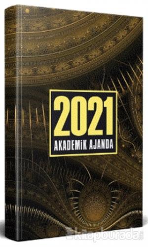Antik Desenli - 2021 Akademik Ajanda