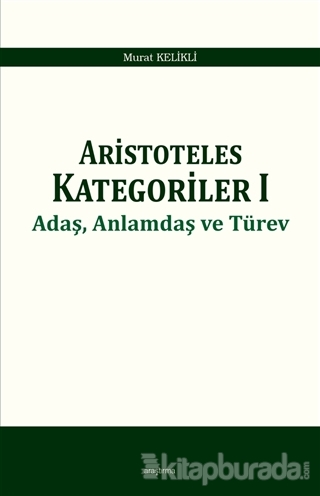 Aristoteles Kategoriler 1
