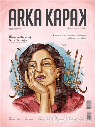 Arka Kapak Dergisi Sayı : 21 Haziran 2017
