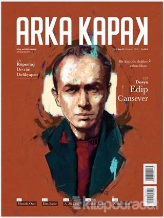 Arka Kapak Dergisi Sayı: 33 Haziran 2018