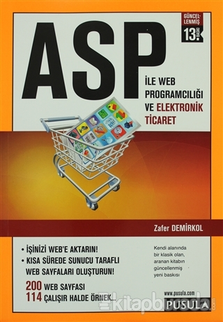 ASP İle Web Programcılığı ve Elektronik Ticaret