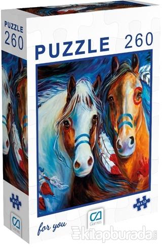 Atlar - 260 Parça Puzzle