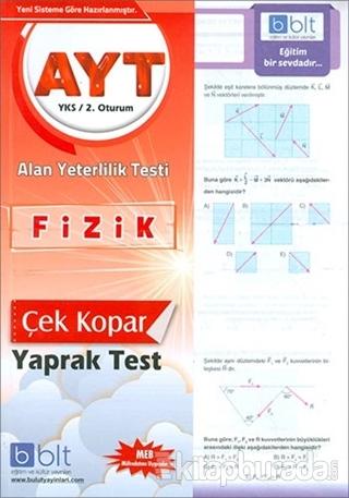 AYT Fizik Yaprak Test