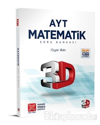 AYT Matematik 3D Soru Bankası