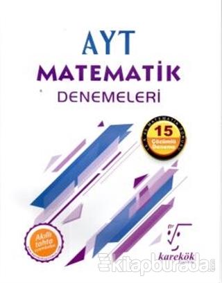 AYT Matematik Denemeleri - 15 Çözümlü Deneme