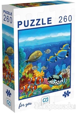 Balıklar - 260 Parça Puzzle
