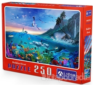 Balıklar Alemi 250 Parça Puzzle
