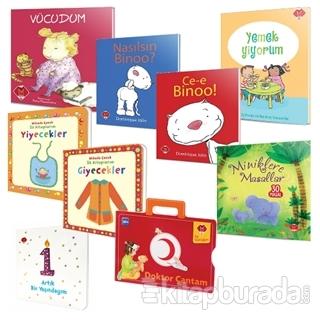 Bebeğimin İlk Kitapları 9'lu Set (6+ Ay)